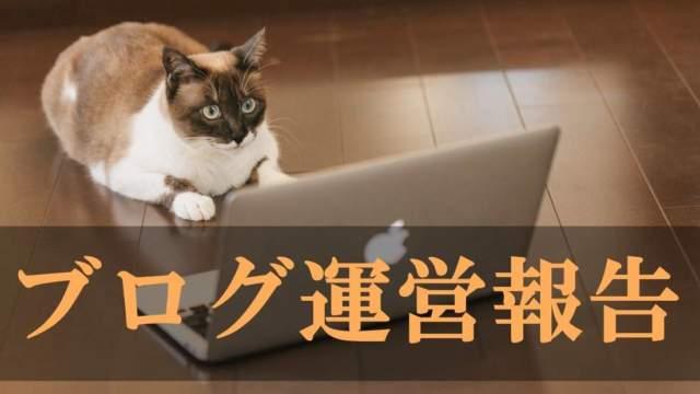 ブログ運営報告の画像