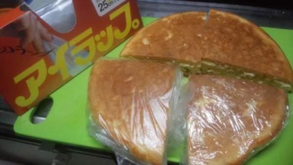 th_パンケーキの分割と保存
