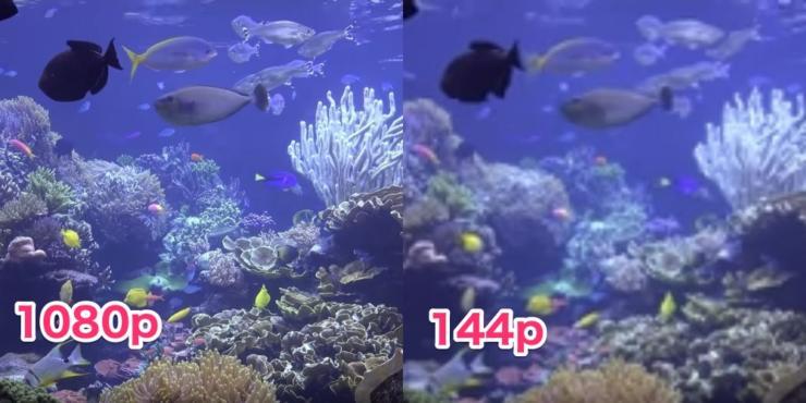 1080pと144pの違い
