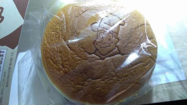 袋に入ったチーズケーキ
