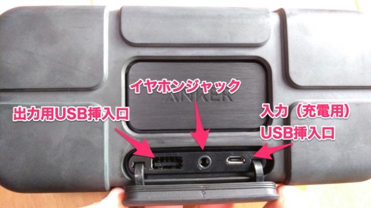 USBなどのコネクタ